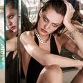 Colliers, bracelets ou bagues : le diamant, meilleur allié des maillots haute couture