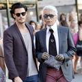 """Karl Is My Father"" : Baptiste Giabiconi prépare un documentaire sur Karl Lagerfeld"