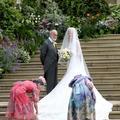 Lady Gabriella Windsor : une robe de mariée romantique dans la pure tradition anglaise