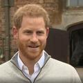 """En vidéo, la première réaction du prince Harry : """"Cette petite chose est à croquer"""""""