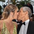 En photos, Nagui, un amoureux transi sur le tapis rouge de Cannes