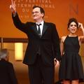 Quentin Tarantino et sa jeune épouse, les photos de leur apparition surprise sur le tapis rouge de Cannes