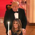 Donald et Melania Trump très complices lors d'une réception à la Maison-Blanche