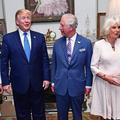 """L'hilarant """"appel à l'aide"""" de Camilla avant de prendre le thé avec Donald Trump"""