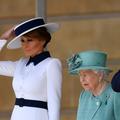 Pourquoi Melania Trump n'a pas fait la révérence à la reine Elizabeth II
