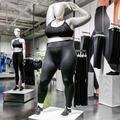 Nike installe un mannequin grande taille dans son flagship londonien
