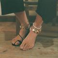 Seize bracelets de cheville gypset pour l'été