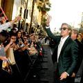 L'idole Brad Pitt affole Hollywood pour la première du film de Tarantino
