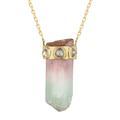 Turquoise, quartz, tourmaline... Dix colliers en pierres brutes à porter cet été