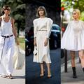 Street style : à Paris, les invités de la couture étaient en blanc