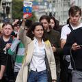 Olga Misik, 17 ans, symbole de la lutte pro-démocratie en Russie