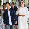 Ces photos d'Angelina Jolie avec ses enfants métamorphosés
