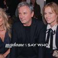 Kate Moss sous les projecteurs chez Zadig & Voltaire