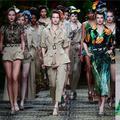 Versace, Armani et Dolce&Gabbana électrisent la Fashion Week de Milan