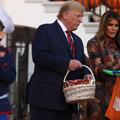 L'effrayant Halloween de Donald et Melania Trump à la Maison-Blanche
