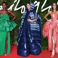 Rihanna en Cendrillon, Liya Kebede en jupe-doudoune... Les tenues les plus mémorables des Fashion Awards