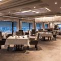 Restaurant Ciel Bleu, menu caviar avec vue sur Amsterdam