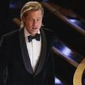 Pour son premier Oscar, Brad Pitt, les larmes aux yeux, remercie ses enfants
