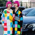 Les folles tenues des jumelles Suzuki pendant la Fashion Week