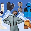 Combi bleu glacier, doudoune rose poudré, masque ultraviolet : la sélection ultime pour skier stylé
