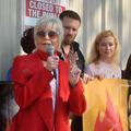 Jane Fonda, militante confinée mais pas muselée