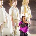 En vidéo: à 6 ans, North West, la fille de Kanye, enflamme le défilé Yeezy