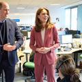 En photos : en pleine épidémie de coronavirus, Kate et William rendent visite aux secouristes londoniens