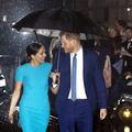 Le parapluie de l'amour : le retour éblouissant de Meghan et Harry à Londres