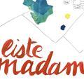 Du courrier, des paniers et du mobilier design pour la bonne cause… La Liste Madame