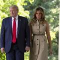 À la Maison-Blanche, Melania Trump impose le masque, Donald s'en affranchit