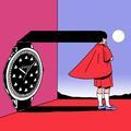 La collab' artydu jour : neuf artistes font pulser les courbes de la montre Gucci