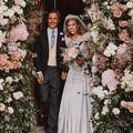 La robe de mariée de la princesse Beatrice est une tenue vintage d'Elizabeth II