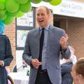 Le prince William et Kate Middleton tout sourire pour leur première visite depuis le confinement