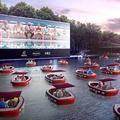 Paris Plages lance son premier cinéma flottant