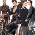 Matières luxueuses, épaules larges : dans le vestiaire des business women