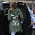 "Désinvolture ou provocation ? On sait pourquoi Melania Trump a porté sa veste ""I don't really care"""