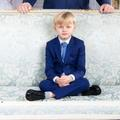 "La photo ""Richie Rich"" de Jacques de Monaco, 5 ans, dans les salons princiers"