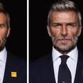 Ridé et grisonnant, David Beckham sera un fringant septuagénaire