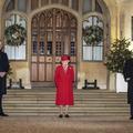 En photos, le voyage en train de Kate et William qui s'achève par une visite à Elizabeth II