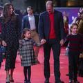 En photos, les enfants du prince William et de Kate Middleton font leurs premiers pas sur le tapis rouge