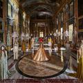 Dans un décor grandiose, Valentino défie le format du défilé virtuel