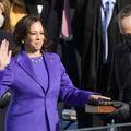 Le manteau violet de Kamala Harris, tout un symbole