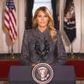 """""""Ce fut le plus grand honneur de ma vie"""", les adieux solennels de Melania Trump aux Américains"""