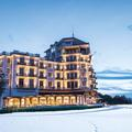 À Evian, l'hiver en pente douce dans un écrin de rêve
