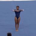 En vidéo, l'ébouriffante performance de la gymnaste américaine Nia Dennis
