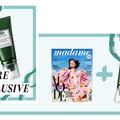 Retrouvez le gel-en-eau désaltérant Origins avec votre magazine Madame Figaro