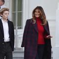 L'étrange photo publiée par Melania Trump pour l'anniversaire de son fils Barron Trump