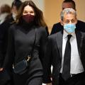 """""""Quel acharnement insensé mon amour"""" : la réaction éclair de Carla Bruni-Sarkozy après la condamnation de son mari"""