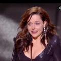 """César 2021 : Laure Calamy, les larmes de l'ingénue de """"Dix pour cent"""" sacrée meilleure actrice"""