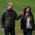 Kate et William au volant d'un tracteur : le couple princier se met au vert à Darlington